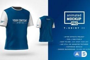 Videohive T-shirt II Mockup Template – Animated Mockup PRO 32607556