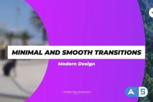 Videohive Minimal and Smooth Transitions 32625200
