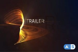 Videohive Trailer Lines Titles 23083329