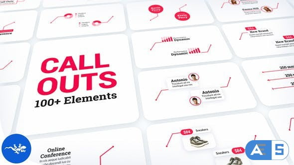 Videohive Call-Out Titles Pack 32628847