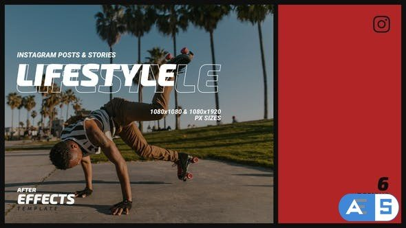 Videohive Lifestyle Instagram Post & Stories B78 32634208