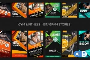 Videohive Gym & Fitness Promo B79 32634719