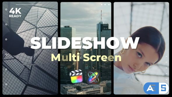 Videohive – Multi Screen Slideshow – 32543633