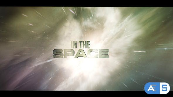 Videohive – In The Space Intro – 28584955