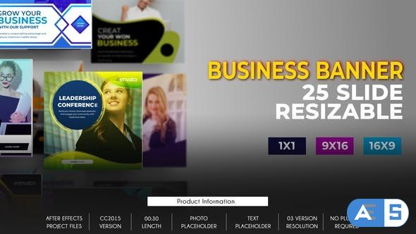 Videohive 25 Business Banner Ad B80 32651312
