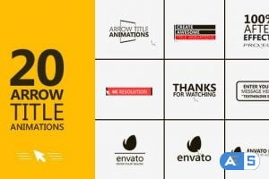 Videohive Arrow – Title Animations 13201281