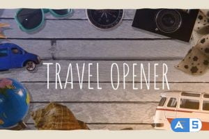 Videohive Travel Photo Opener 32736648