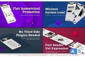 Videohive Mobile Application Flat Promo V4 32732365