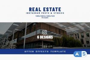 Videohive Real Estate Instargram Posts & Stories 32724469