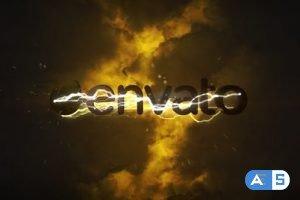 Videohive Lightning Thunderstorm Logo 20109925