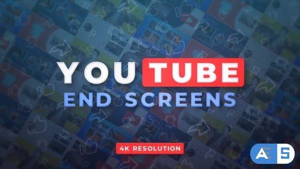 Videohive YouTube End Screens 4K v.2 32809059