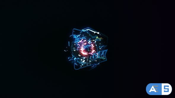 Videohive Lightning Energy Logo Opener 31029488