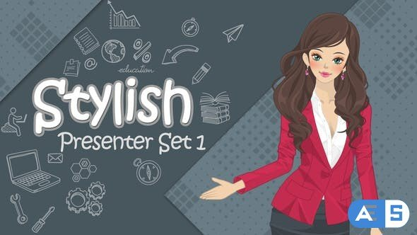 Videohive Stylish Presenter Set 1 32806476