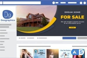Videohive Real Estate Facebook Cover 32796672