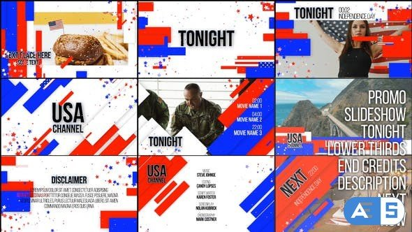 Videohive – USA TV Broadcast Essentials – 32784192