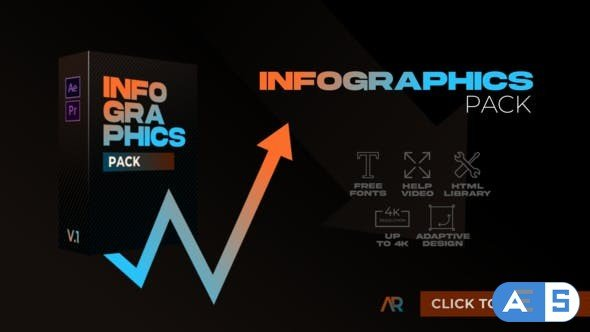 Videohive – Infographics Pack   MOGRT – 32754265