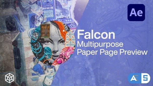 Videohive Falcon – Multipurpose Paper Page Preview 31859789