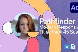 Videohive Pathfinder – Modern Responsive Titles Pack 31232688