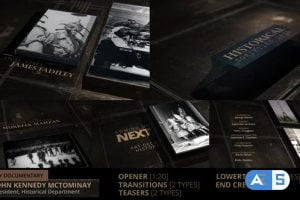 Videohive History Documentary Broadcast Pack 24821764
