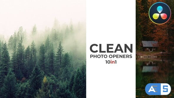 Videohive – Clean Photo Openers – Logo Reveal – 32096846
