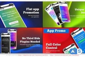Videohive Colorful Mobile App Promotion V06 32858873