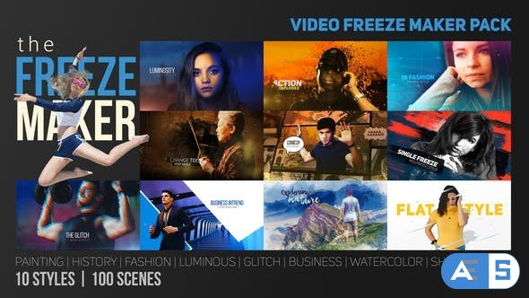 Videohive The Freeze Maker 21755026