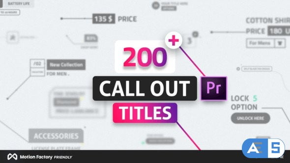 Videohive – Line Call Out Titles for Premiere Pro – 22633449