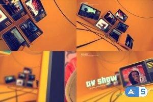 Videohive Tv Logo Opener 32882567