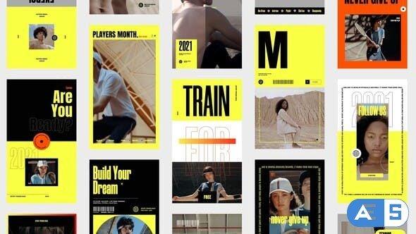Videohive Sport Promo Stories 33124794