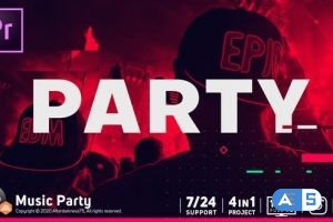 Videohive Music Party 33008006