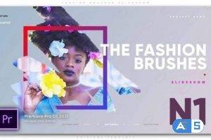 Videohive – Fashion Brushes Slideshow – 32919748