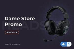 Videohive Sale Product Promo | Game Store B100 33228070