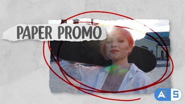 Videohive Paper Promo 33043293
