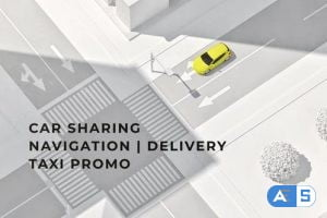 Videohive Car Sharing | Navigation | Delivery | Taxi DR 33124018