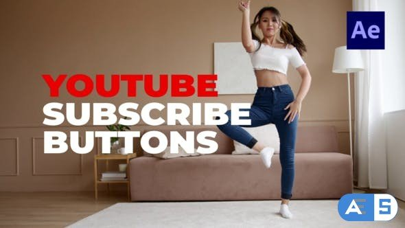 Videohive Youtube Subscribe Buttons 33123975