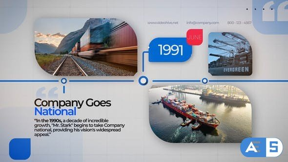 Videohive Business Company Timeline 31887364