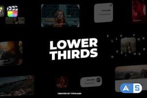 Videohive Cinematic Lower Thirds 33059911