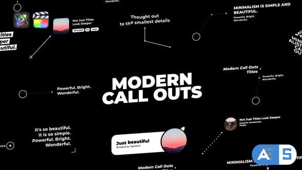 Videohive Modern Call Outs 33120679