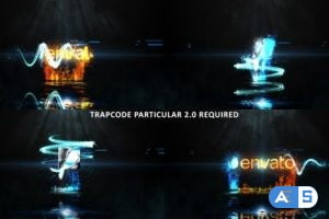 Videohive Glowing Particle Logo Reveal 27 20799750