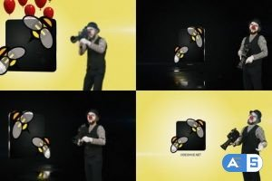 Videohive Clown Logo 2 23630053