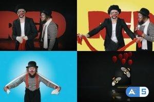 Videohive Clowns Logo 23692359
