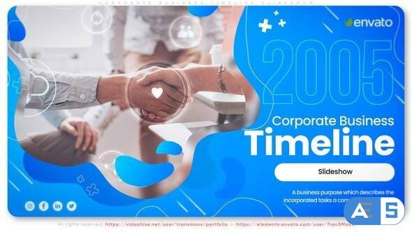 Videohive Corporate N Business Timeline Slideshow 33108494