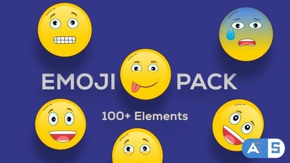 Videohive Emoji Animation Pack 33170718