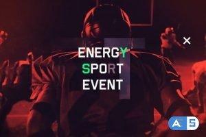 Videohive Energy Sport Event 25159484