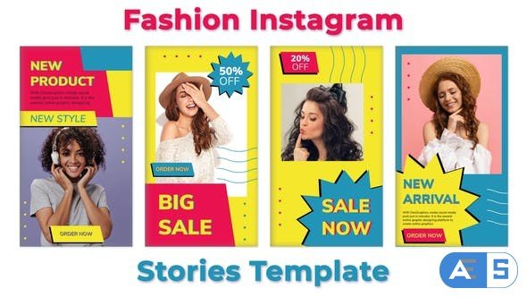 Videohive Fashion Instagram Stories Template 33051865
