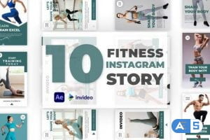 Videohive Fitness Instagram Story Pack 32928826
