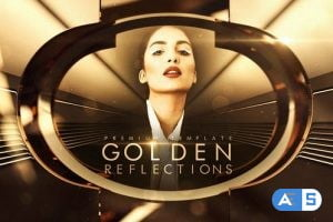Videohive Golden Reflections 33164823