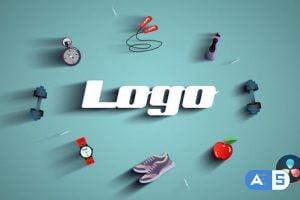 Videohive Gym Fitness Logo 33004239