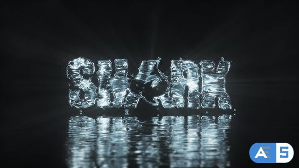 Videohive Water Logo 25721647