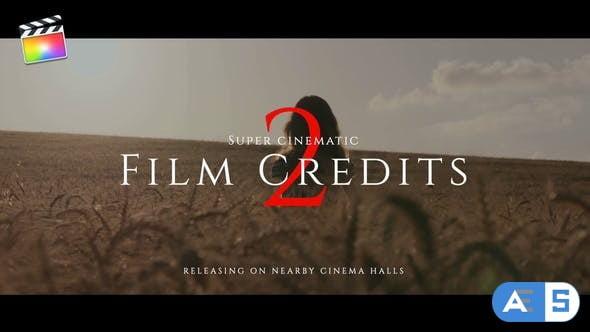 Videohive Film Credits Pack V.2 33077503